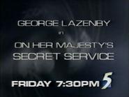 CH5 promo - On Her Majesty's Secret Service - 1997
