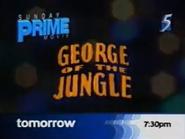 CH5 promo - Sunday Prime Movie - George of the Jungle - 2002