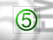 Channel 5 ID - Green - 1994