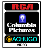 RCA Columbia Achugo print logo 1984
