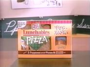 Lunchables Pizza URA Cheyenne and Cardinalia TVC 1996 2