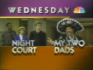 NBC promo - Night Court and My Two Dads - 1-29-1989