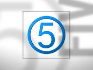 Channel 5 ID - Light Blue - 1994