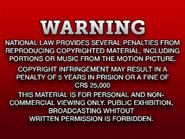 Shawston HV 1981 warning VHS