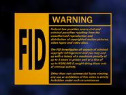 UEHV 1995 FID screen - Laserdisc