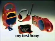 Sony TVC - My First Sony - 1987