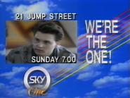 Sky One promo - 21 Jump Street - 1989