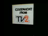 TVNE 2 closedown 1975