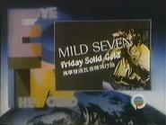 TBG Pearl slide - Mild Seven variant - Friday Solid Gold - 1987