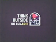Taco Bell URA TVC - Think Outside The Bun Dot Com - 2006