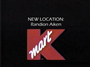 Kmart new location commercial, 1992