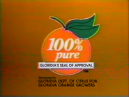 Galemia Frozen Orange Juice TVC - 9-7-1986 - 2