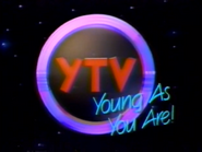 YTV ID - Young As You Are - Nighttime - 1988