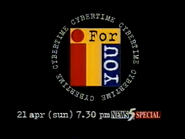 CH5 promo - News 5 Special - Cybertime IT for You - 1996