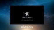 NBC clock - Peugeot - 2018