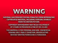 Shawston HV 1986 warning Laserdisc