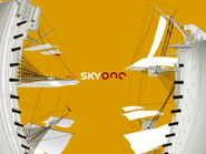 Sky One ID - Ships - Yellow-Red - 2004