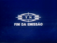 TN1 sign off slide - blue and white pre-1982 TN logo