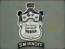 Gupi Vodka Smirnoff sponsor 1980