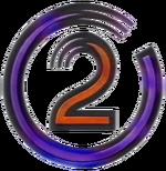 TVNE2 purple swirl logo