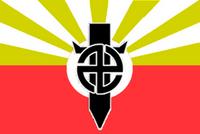 Flag of Hisqaida (1929-1944)