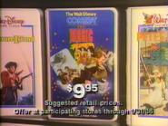 The Walt Disney Comedy and Magic Revue VHS URA TVC 1985