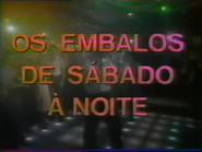 Sigma promo - Saturday Night Fever - 1986