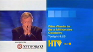 HTV promo - Who Wants to Be A Millionaire Celebrity - with Network Q sponsor logo - 2003