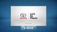 FOX clock - Toyota (2017)