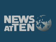 News at Ten teal blue dark open