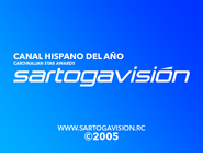 Sartogavision 2005 closer (Hispanic channel of the year)
