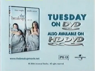 The Breakup DVD and HD DVD URA TVC 2006 - 2