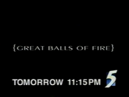 CH5 promo - Great Balls of Fire - 1997