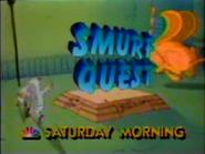 NBC promo - The Smurfs - Smurf Quest - 1986