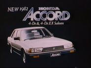 TBG Pearl Honda Accord sponsor 1981 2