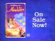 Walt Disney Classics - Aladdin VHS URA TVC 1993 - 2