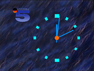 Channel 5 clock 1990