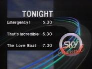 Sky Channel lineup 1989 1