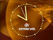 CH8 Raymond Weil clock early 1995