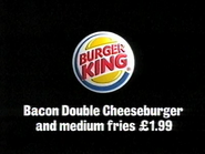 BK AS TVC Bacon Double Cheeseburger 2002