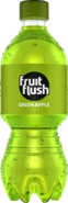 Fruit Flush Green Apple PET Bottle