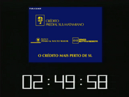 SRT clock - Credito Predial Motta and Souto Mayor - 1999