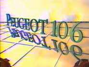 MV1 Peugeot 306 sponsor billboard 1991