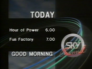 Sky Channel Morning lineup 1989