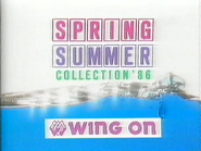 Wing On Spring Summer Collection TVC Gonghei 1986