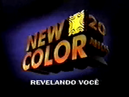 New Color 20 Anos PS TVC 1996
