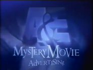 A&E Mystery Movie commercial break bumper 1997
