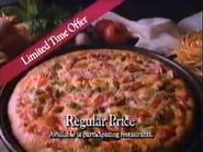 Pizza Hut 4 Dollar Pizza Deal URA TVC 1991 - Part 2