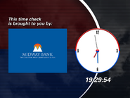 EPT clock - Midway Bank (1997)