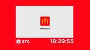 GTC 2020 clock (McDonald's)